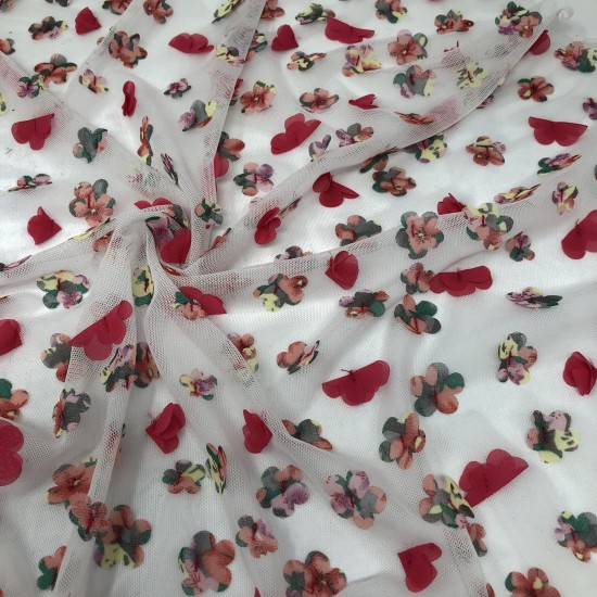 Cotton/Rayon Blended Printed Fabric